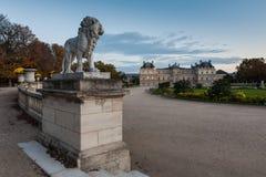 Palácio de Luxembourg, Paris, France Imagens de Stock Royalty Free