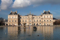 Palácio de Luxemburgo Fotografia de Stock Royalty Free
