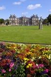 Palácio de Luxemburgo em Jardin du Luxemburgo em Paris Fotografia de Stock
