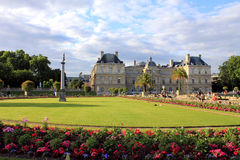 Palácio de Luxemburgo, Paris Fotografia de Stock Royalty Free