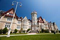 Palácio de Magdalena em Santander, Cantábria Foto de Stock Royalty Free