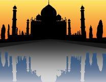 Palácio de Mahal do Tag Fotografia de Stock Royalty Free
