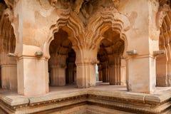 Palácio de Mahal dos lótus para dentro imagem de stock royalty free