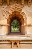 Palácio de Mahal dos lótus para dentro imagens de stock royalty free