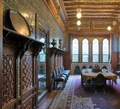 Palácio de Manial do príncipe Mohammed Ali E Foto de Stock Royalty Free