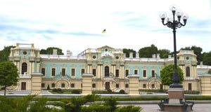 Palácio de Mariinsky em Kiev em Ucrânia Fotografia de Stock