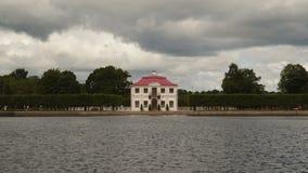 Palácio de Marley em Peterhof video estoque