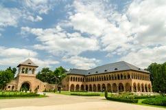 Palácio de Mogosoaia fotos de stock royalty free