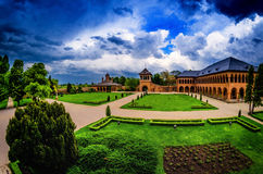 Palácio de Mogosoaia Foto de Stock Royalty Free