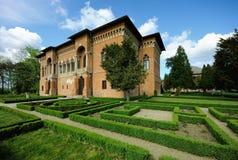 Palácio de Mogosoaia - Bucareste imagem de stock