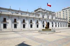 Palácio de Moneda do La, Santiago de Chile, o Chile Imagem de Stock
