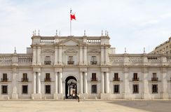 Palácio de Moneda do La, Santiago de Chile, o Chile Imagens de Stock Royalty Free