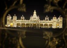 Palácio de Mysore, Índia fotos de stock royalty free
