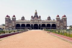 Palácio de Mysore, India Foto de Stock