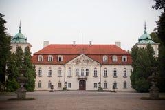 Palácio de Nieborow Fotografia de Stock Royalty Free