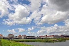 Palácio de Nymphenburg fotos de stock
