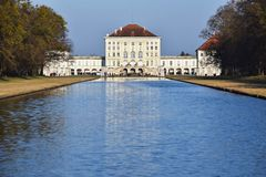 Palácio de Nymphenburg, Munich Imagem de Stock