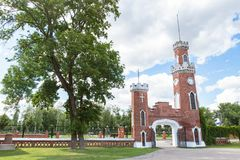 Palácio de Oldenburg Rússia 2016 Imagem de Stock Royalty Free