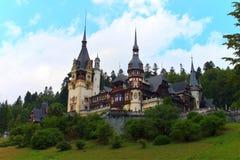 Palácio de Peles, Romania Fotografia de Stock Royalty Free