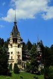 Palácio de Peles, Sinaia, Romania Fotos de Stock Royalty Free