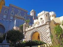 Palácio de Pena, sintra, Portugal foto de stock