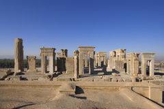 Palácio de Persepolis - de Apadana Fotos de Stock