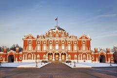 Palácio de Petrovsky. Rússia, Moscovo Fotos de Stock Royalty Free