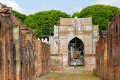 Palácio de Phra Narai Ratchanivet Fotografia de Stock Royalty Free