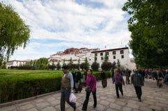 Palácio de Potala Fotografia de Stock