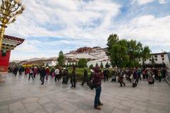 Palácio de Potala Fotografia de Stock Royalty Free