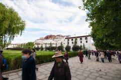 Palácio de Potala Fotos de Stock