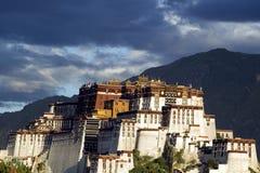 Palácio de Potala em Lhasa Foto de Stock Royalty Free