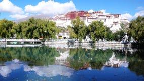 Palácio de Potala em Tibet Fotografia de Stock