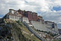 Palácio de Potala, Tibet Imagens de Stock