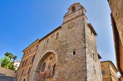 Palácio de Pretorio. San Gemini. Úmbria. Itália. imagens de stock royalty free