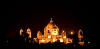 Palácio de Rajhastan Foto de Stock Royalty Free