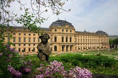 Palácio de Residenze, Wurzburg Imagens de Stock