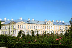 Palácio de Rundale em Latvia Imagem de Stock Royalty Free