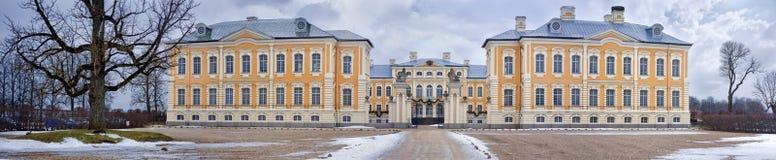 Palácio de Rundale, Letónia Fotografia de Stock Royalty Free