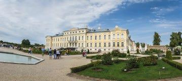 Palácio de Rundales em Letónia Imagem de Stock
