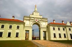 Palácio de Ruzhany em Belarus. imagem de stock