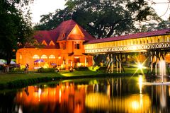 Palácio de Sanam Chan fotos de stock royalty free