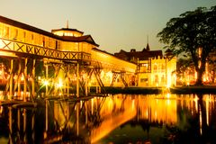 Palácio de Sanam Chan imagem de stock royalty free