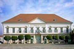 Palácio de Sandor em Budapest fotografia de stock royalty free