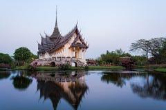 Palácio de Sanphet Prasat imagem de stock royalty free