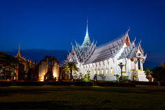Palácio de Sanphet Prasat fotos de stock