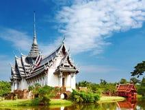 Palácio de Sanphet Prasat, Tailândia fotografia de stock