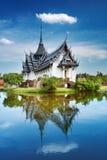 Palácio de Sanphet Prasat, Tailândia imagens de stock royalty free
