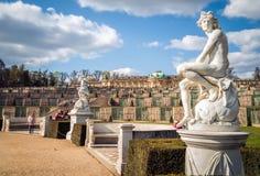 Palácio de Sanssouci em Potsdam, Alemanha Foto de Stock