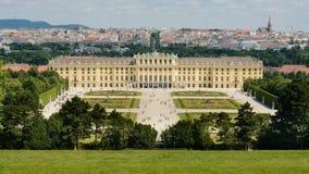 Palácio de Schönbrunn em Viena Fotografia de Stock Royalty Free
